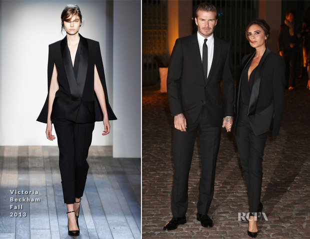 Victoria Beckham In Victoria Beckham - An Evening To Celebrate The Global Fund