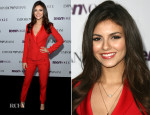 Victoria Justice In Emporio Armani - 2013 Teen Vogue Young Hollywood Party