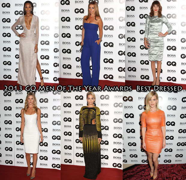 Who Was Your Best Dressed At The 2013 GQ Men of the Year Awards