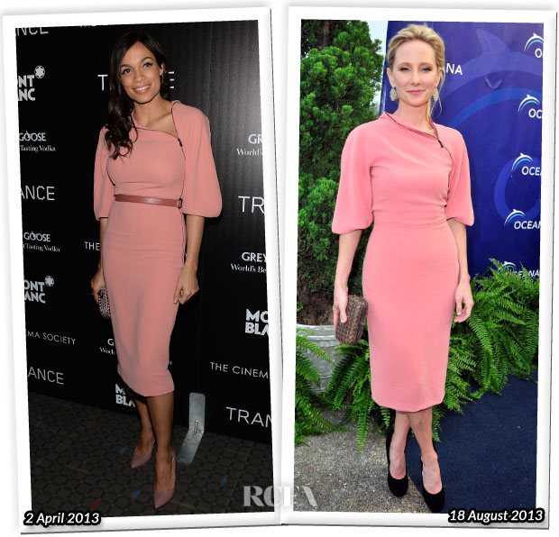 Who Wore Bottega Veneta Better Rosario Dawson or Anne Heche