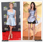 Who Wore Christian Dior Better...Claire Julien or Kelly Chen?