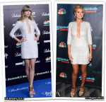 Who Wore Kaufmanfranco Better...Taylor Swift or Heidi Klum?