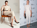 Yvonne Strahovski In ALICE by Temperley - 2013 PaleyFest Fall Preview - Fall Farewell 'Dexter'