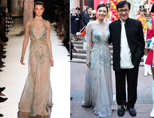 Zhang Ziyi In Elie Saab Couture - 2013 Chinese Film Festival Opening Ceremony