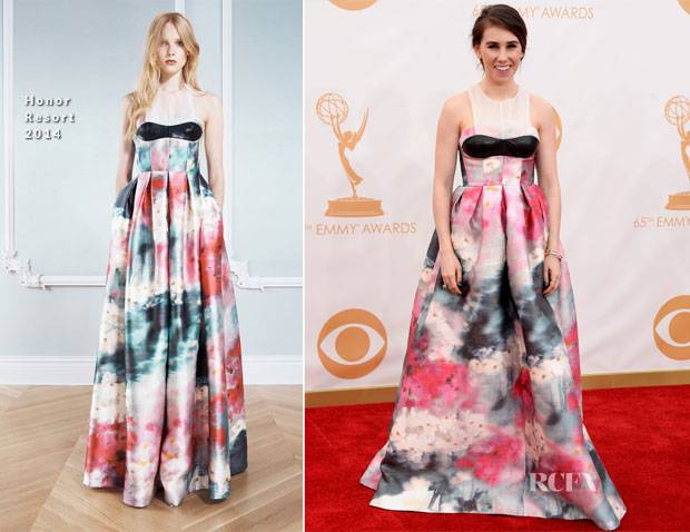 Zosia Mamet In Honor - 2013 Emmy Awards