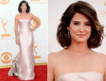 Cobie Smulders In J. Mendel – 2013 Emmy Awards