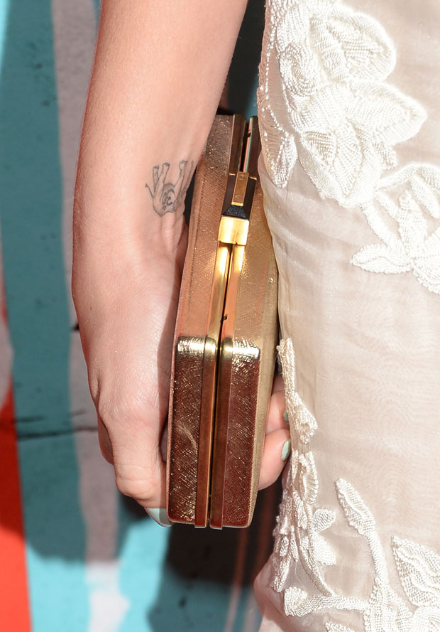 Ashley Greene's clutch