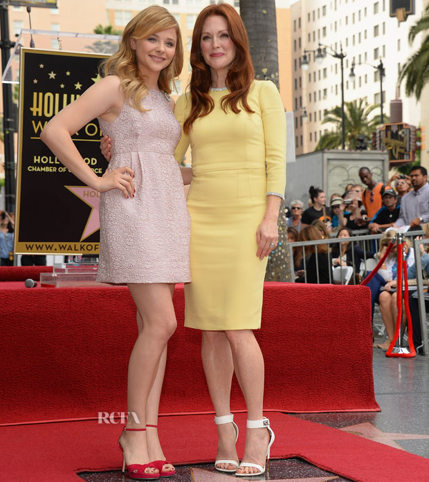 Julianne Moore Honored On The Hollywood Walk Of Fame
