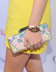 Bella Thorne's DVF 'Tonda clutch