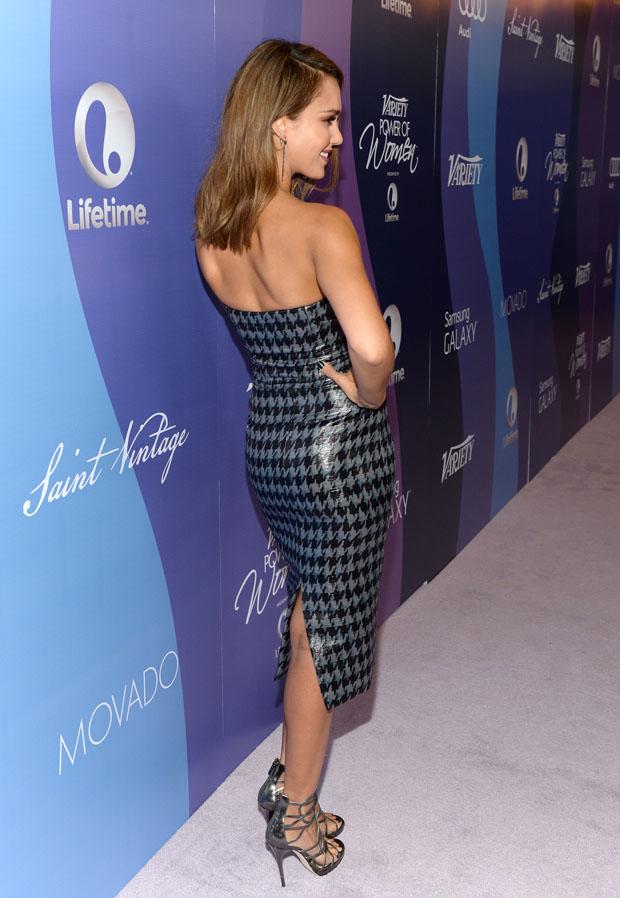 Jessica Alba in Dior