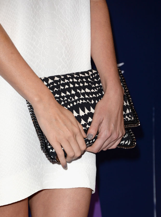 Charlize Theron's Stella McCartney clutch