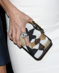 Julianne Moore's Givenchy clutch and Harry Winston diamond ring