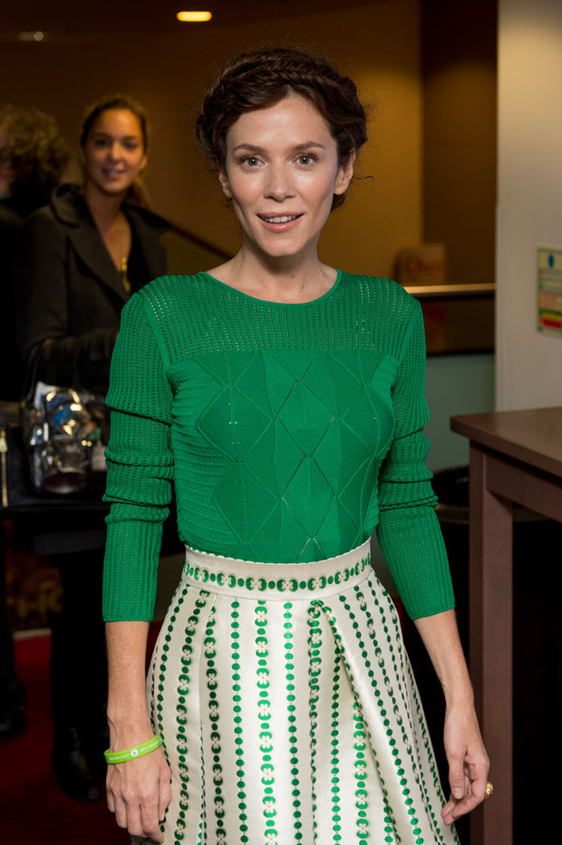 Anna Friel in Temperley London