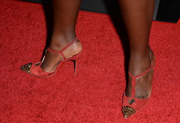 Lupita Nyong'o Christian Louboutin pumps