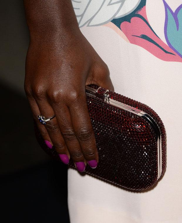 Lupita Nyong'o Judith Leiber clutch