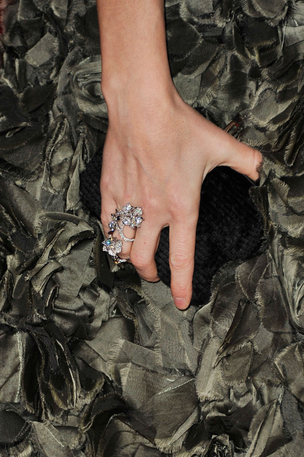 Joanne Froggatt's David Webb jewels
