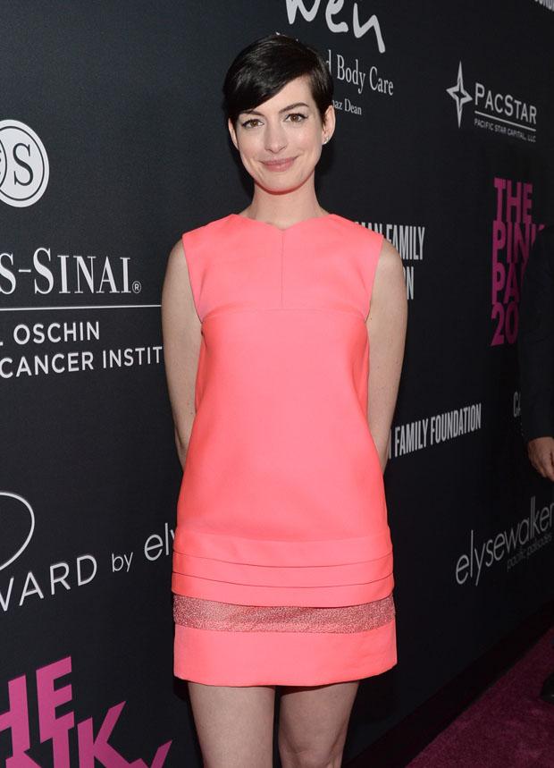 Anne Hathaway in J. Mendel