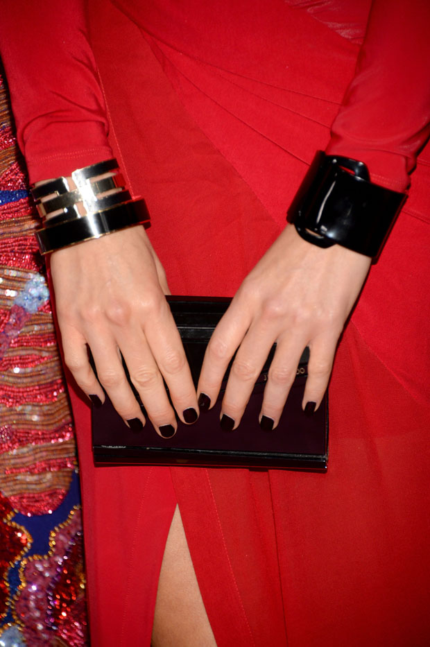 Kate Beckinsale's Jimmy Choo 'Candy' clutch
