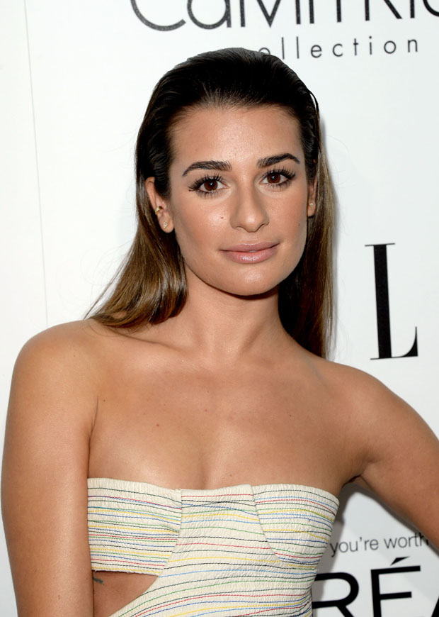Lea Michele in Calvin Klein Collection