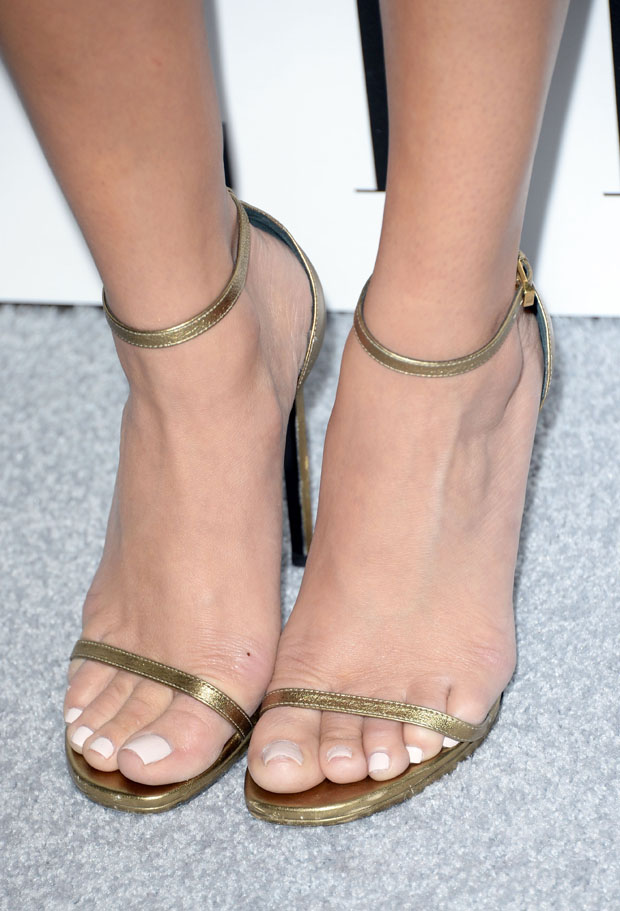 Ashley Madekwe's Saint Laurent sandals