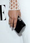 Naya Rivera's Jimmy Choo clutch