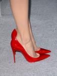 Emmy Rossum's Christian Louboutin pumps