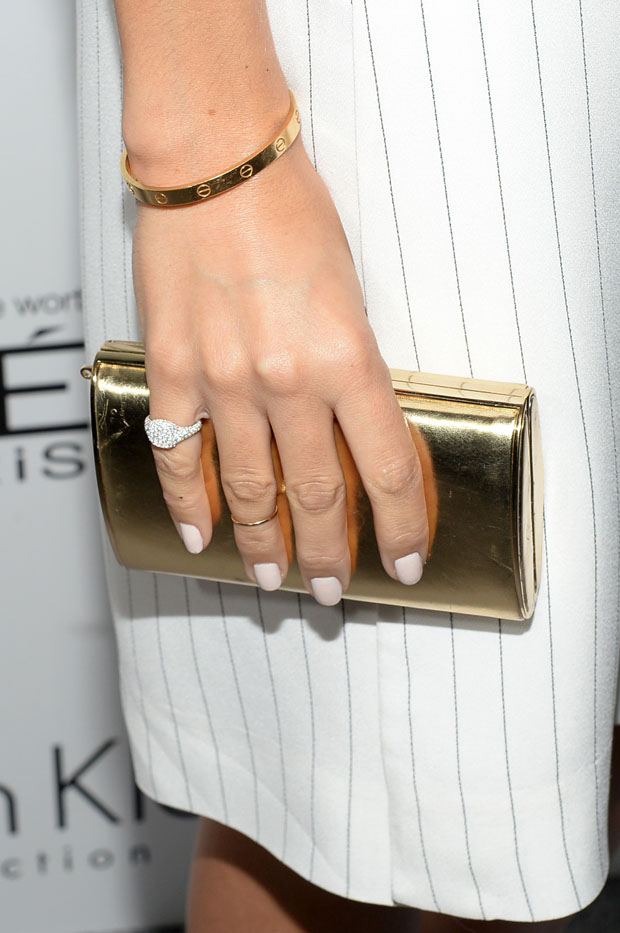 Ashley Madekwe's Jimmy Choo 'Carmen' clutch