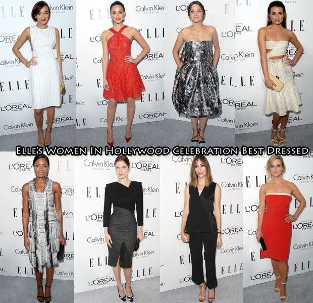 2013 Elle's Women In Hollywood Celebration
