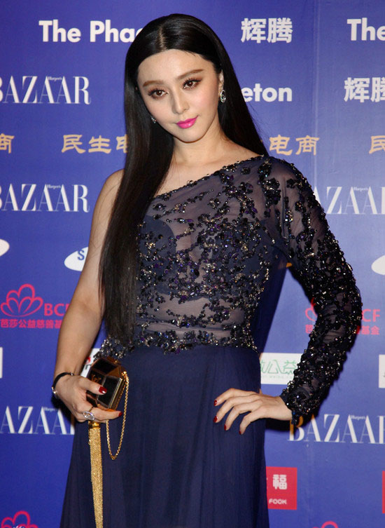 Fan Bingbing in Elie Saab Couture