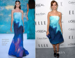 Ahna O'Reilly In Monique Lhuillier - ELLE's 20th Annual Women In Hollywood Celebration