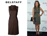 Aisha Tyler's Belstaff 'Clee' Dress