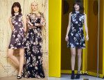Alexa Chung In Erdem - The Standard Hotel