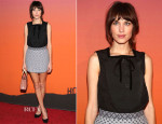 Alexa Chung In Louis Vuitton - 2013 Whitney Gala