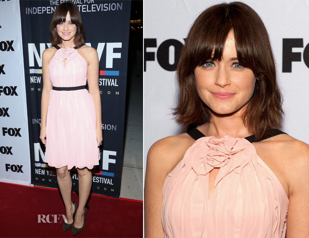 Alexis Bledel In BCBG Max Azria - 'Us And Them' Series Screening