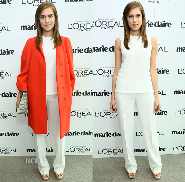 Allison Williams In Calvin Klein Collection - Marie Claire's Power Women Lunch
