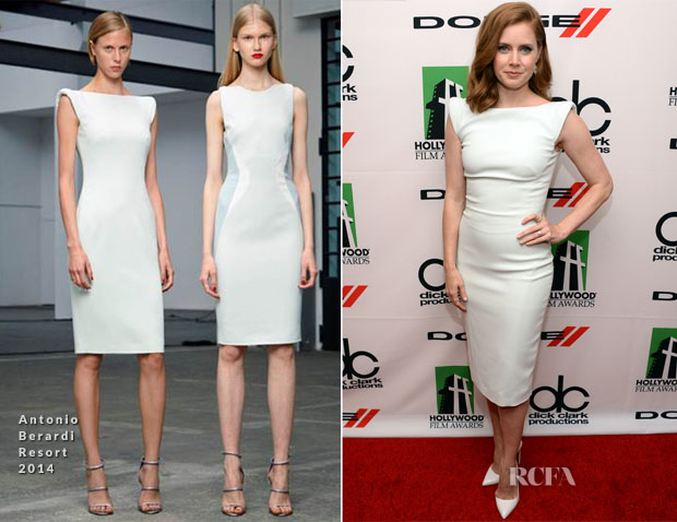 Amy Adams In Antonio Berardi - 2013 Hollywood Film Awards