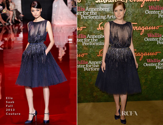 Amy Adams In Elie Saab Couture - Wallis Annenberg Center for the Performing Arts Inaugural Gala