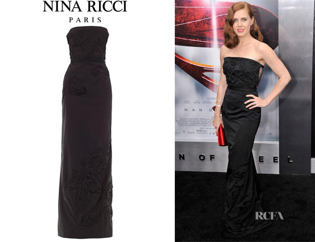 Amy Adams' Nina Ricci 'Razimir' Strapless Gown