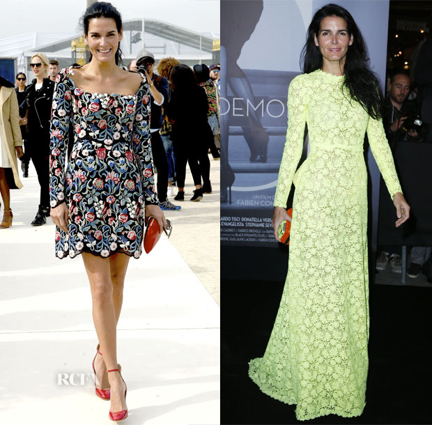 Angie Harmon Paris Fashion Week 2