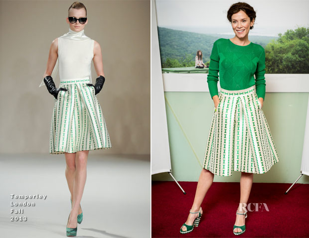Anna Friel In Temperley London - 'Virunga' Screening