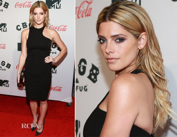 Ashley Greene In Pierre Balmain - 'CBGB' New York Premiere