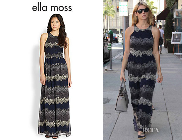 Ashley Greene's Ella Moss 'Felicity' Maxi Dress