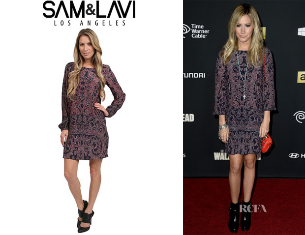 Ashley Tisdale's Sam & Lavi 'Madonna' Dress