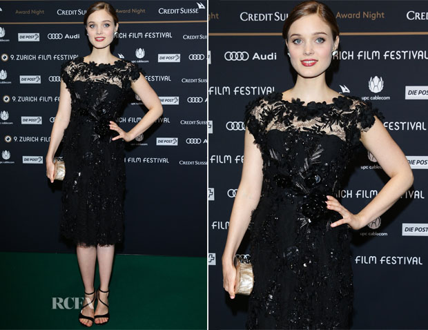 Bella Heathcote In Elie Saab - Zurich Film Festival 2013 Awards
