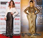 Jessica Alba In Juan Carlos Obando &  Sonam Kapoor in Jean Paul Gaultier Couture