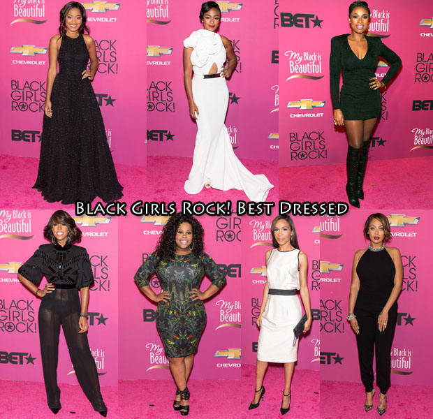 Black Girls Rock! 2013 Best Dressed
