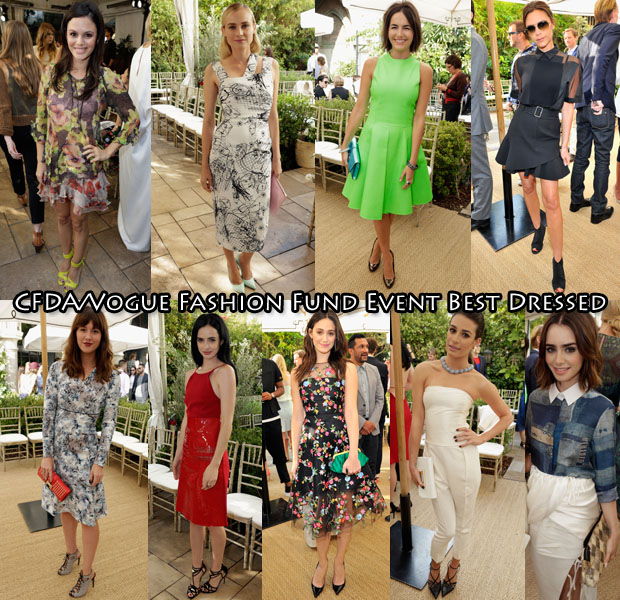 CFDA Vogue Fashion Fund Event Best Dressed