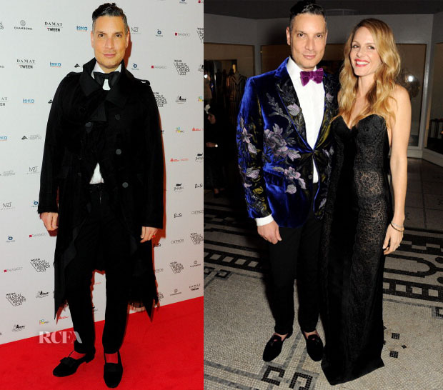 Cameron Silver In John Galliano & Tom Ford - The WGSN Global Fashion Awards