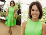 Camilla Belle In Ralph Lauren - CFDA/Vogue Fashion Fund Event