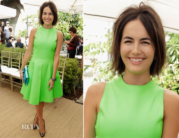 Camilla Bella in Ralph Lauren - CFDA Vogue Fashion Fund Event